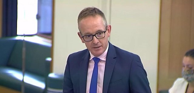 John Lamont MP praises the work of Doddie Weir and his MND foundation in a parliament debate.