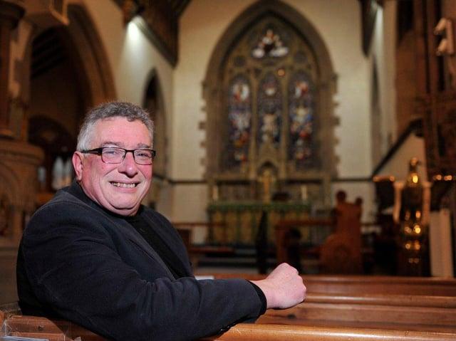 Reverend Canon Bob King.