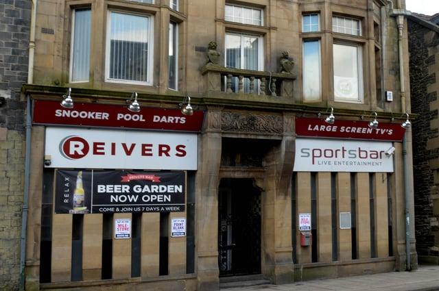 Reivers Bar in Galashiels.