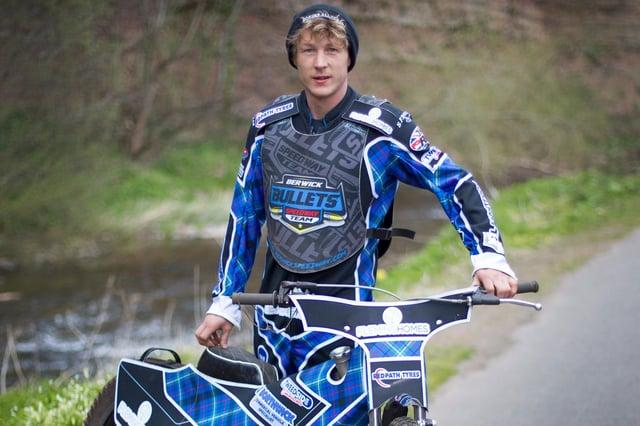 Jedburgh speedway rider Greg Blair