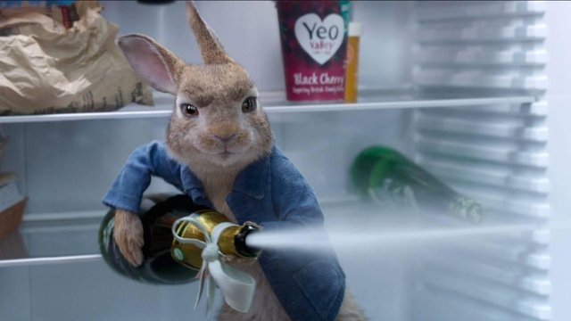 Champagne corks will be flying at the Pavilion for the release of Peter Rabbit 2.