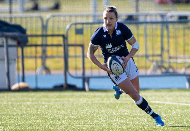 Chloe Rollie (picture by Scottish Rugby/SNS)