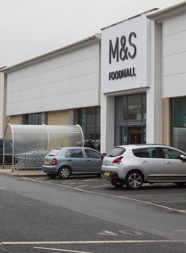 M & S foodstore, Galashiels.