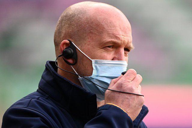 Gregor Townsend, head coach of Scotland, prior to yesterday's Guinness Six Nations match against Italy at Murrayfield Stadium in Edinburgh (Photo by Stu Forster/Getty Images)