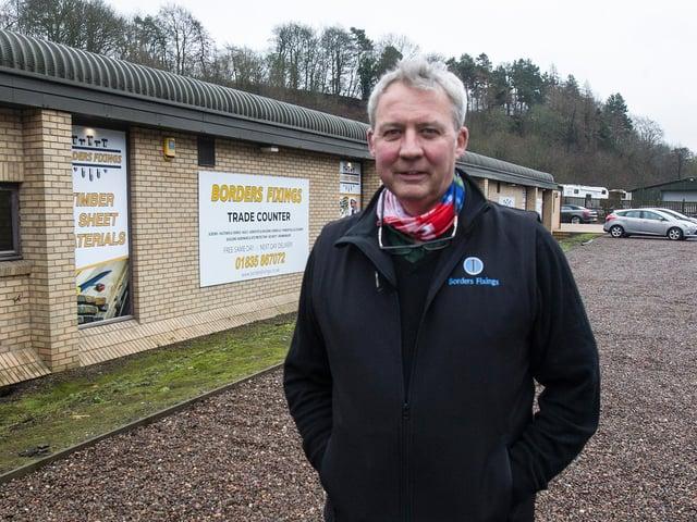 Jim Brand, Borders Fixings, Jedburgh