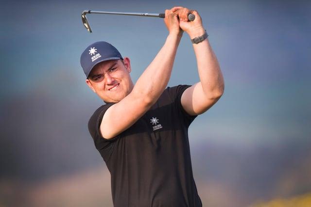 Owen Cranston won the April Medal at Jedburgh Golf Club