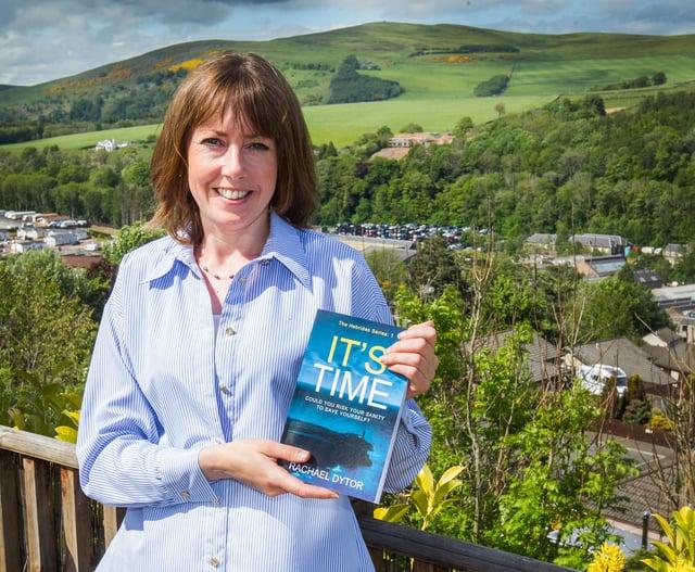 Galashiels author Rachael Dytor. (Photo: BILL McBURNIE)