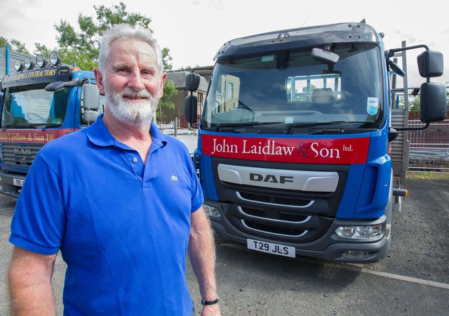 Jack Laidlaw has retired from the business he went into straight from school, after 51 years and 3 days. (Photo: BILL McBURNIE)