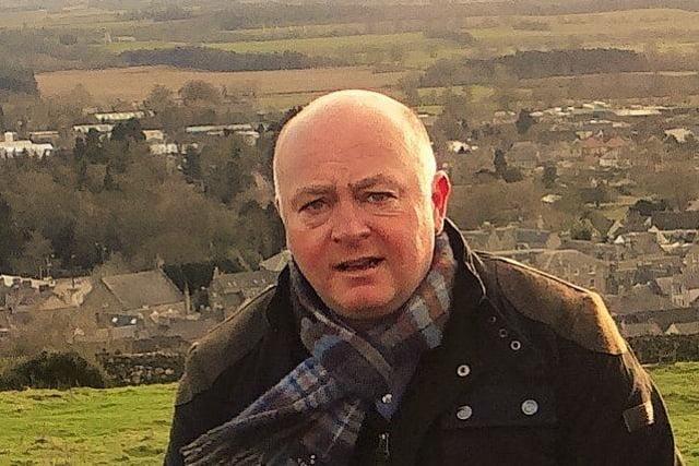 Concillor Mark Rowley.