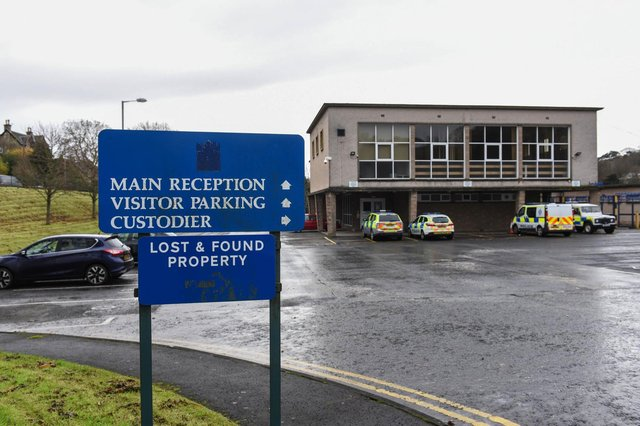 Hawick Police Station.