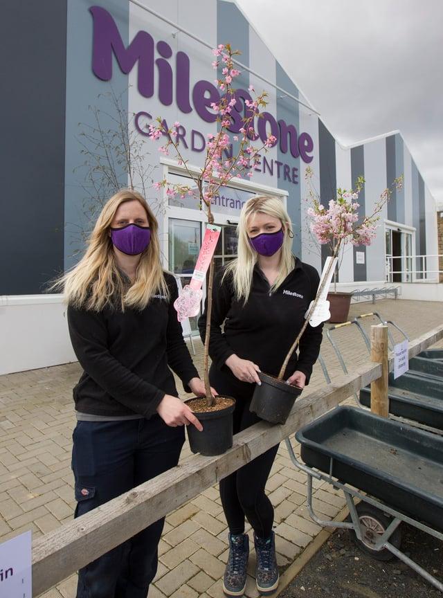 Staff at Milestones, Leanne Charlton and Kirstie Thomson. (Photo: BILL McBURNIE)