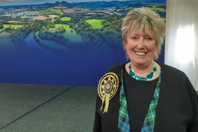 Christine Grahame of the SNP held onto her Midlothian South, Tweeddale and Lauderdale seat by an increased majority.