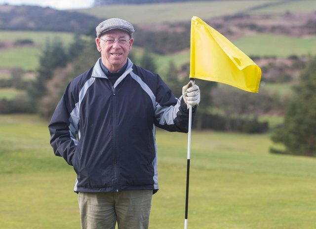 Borders rugby legend Roy Laidlaw has been appointed as honorary captain at Jedburgh Golf Club (Photo: Bill McBurnie)