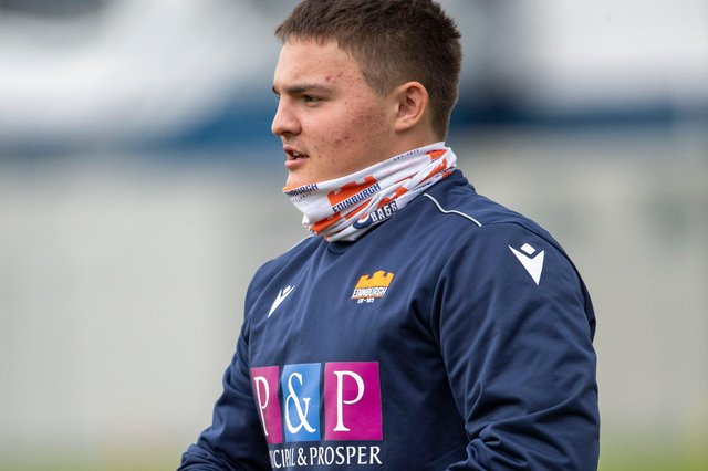 Patrick Harrison is one of seven Borderers in Scotland's initial under-20 Six Nations squad (Photo by Bill Murray/SNS Group/Edinburgh Rugby)