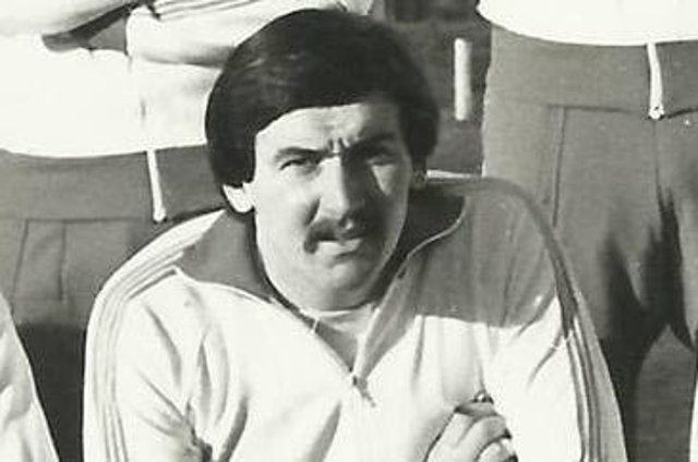 Brian McConnell, alias the Bear, during his playing days