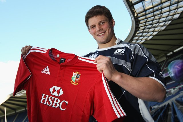 Kelso's Ross Ford getting ready in May 2009 to head out on that year's British and Irish Lions' tour of South Africa (Photo by David Rogers/Getty Images)